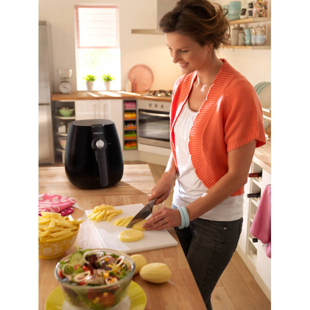 Philips Airfryer Daily Collection HD9216/40 - donkergrijs