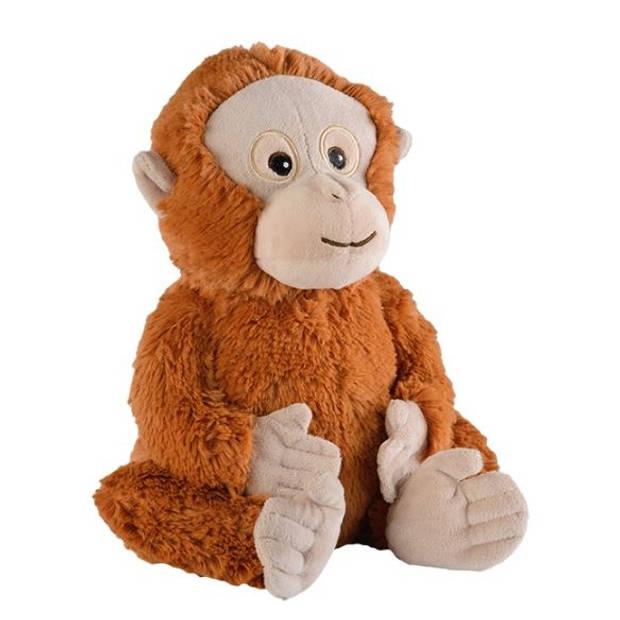 Warmies warmteknuffel orang-oetan 33 cm bruin
