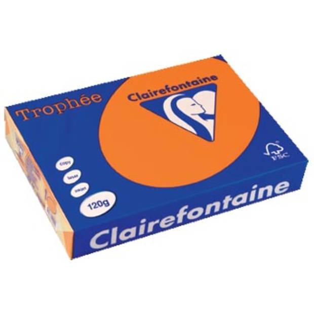 Clairefontaine Trophée Intens A4 feloranje, 120 g, 250 vel