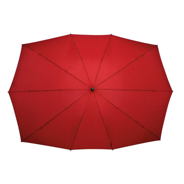 Falcone duo-paraplu handopening 148 x 99 cm rood