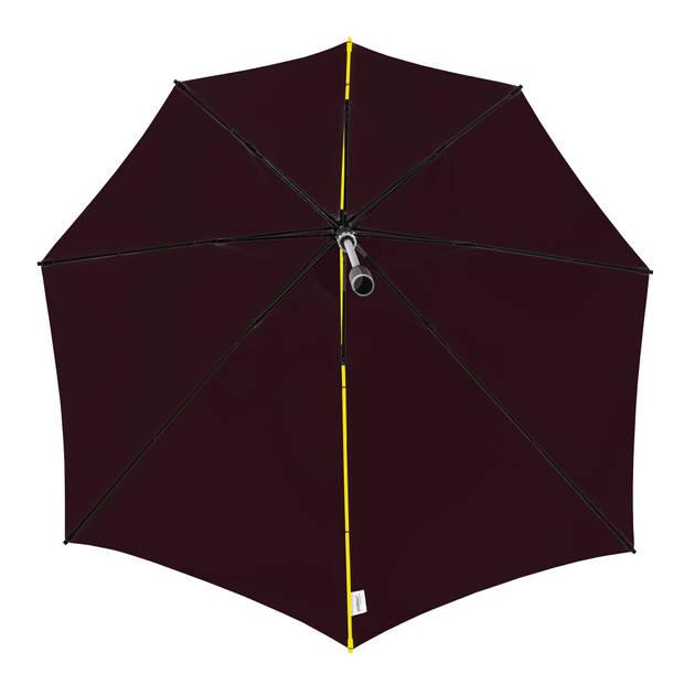 Impliva stormparaplu STORMaxi handopening 100 cm zwart