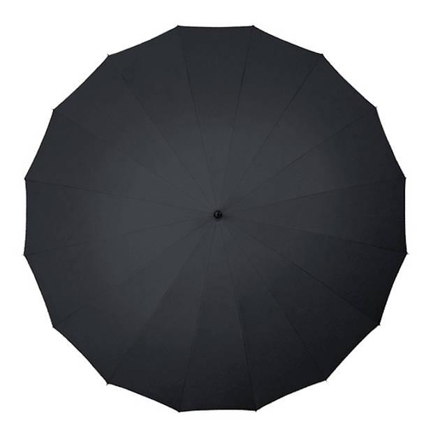 Falcone paraplu 16 banen 103 cm zwart