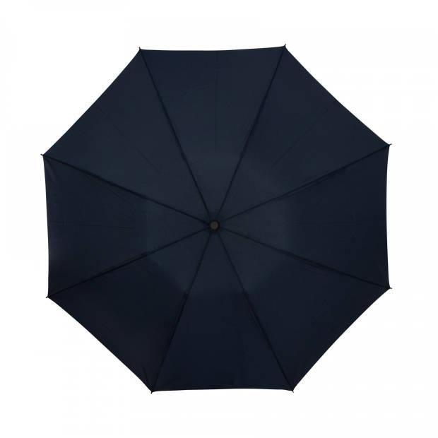 miniMAX paraplu automatisch open en close 95 cm marineblauw