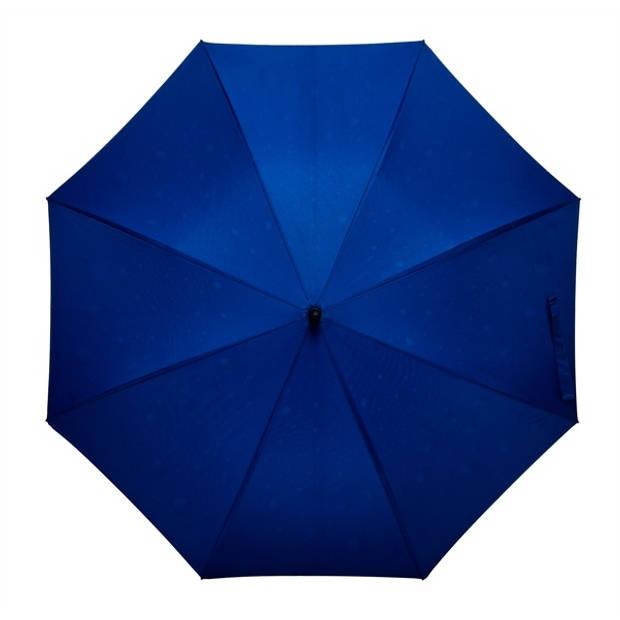 Falcone golfparaplu druppels automatisch 120 cm blauw