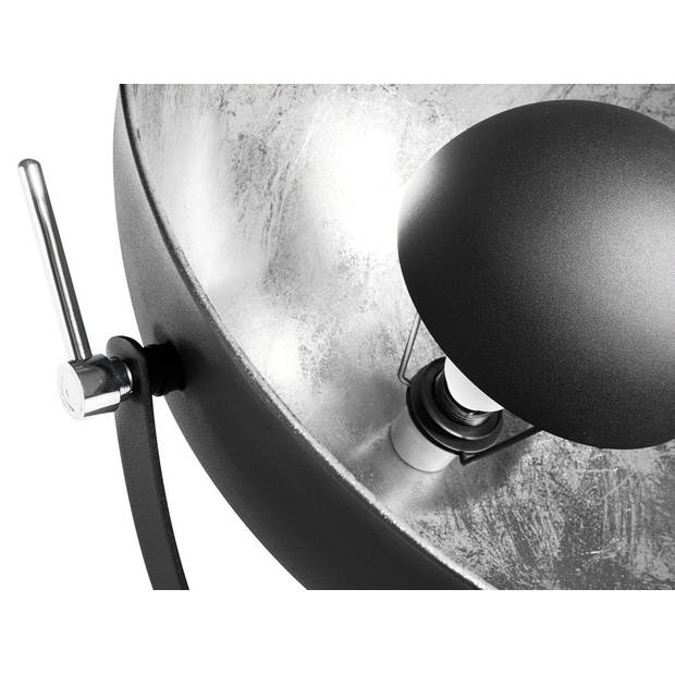 Beliani THAMES II Staande lamp Staal 60 x 60 cm
