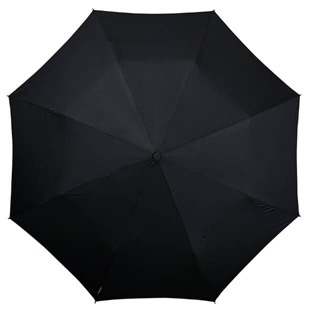 Impliva paraplu miniMAX automaat 100 cm zwart