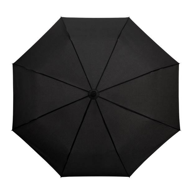 miniMAX paraplu windproof handopening 98 cm zwart