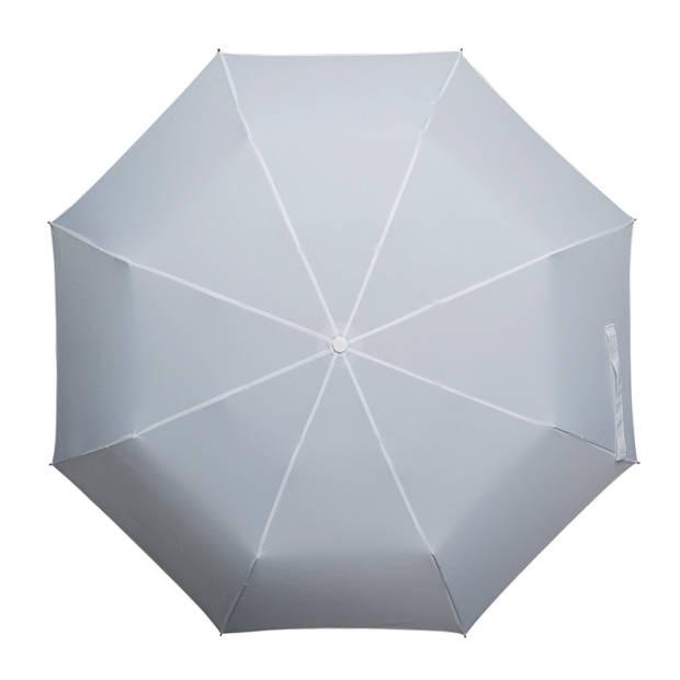 miniMAX paraplu windproof handopening 100 cm wit