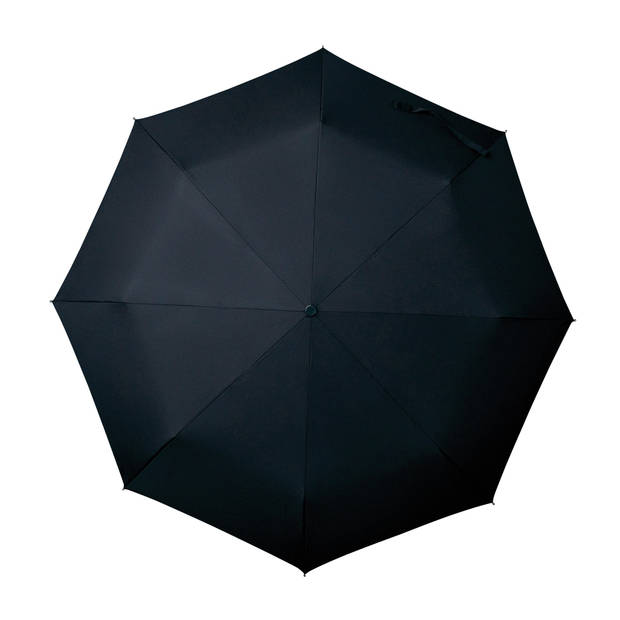 miniMAX paraplu windproof handopening 100 cm zwart
