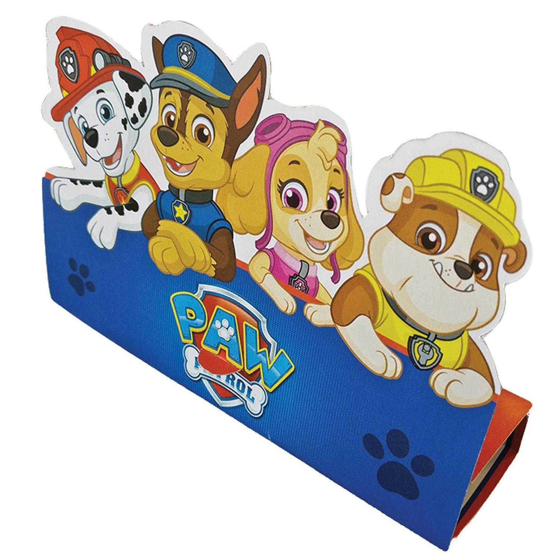 Korting Nickelodeon Uitnodigingen Paw Patrol 16 Cm 8 Stuks Blauw