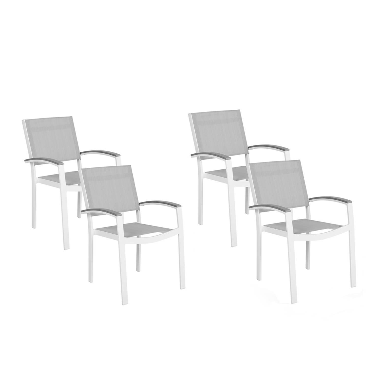 Beliani Pereta Tuinstoel Aluminium 50 X 46 Cm