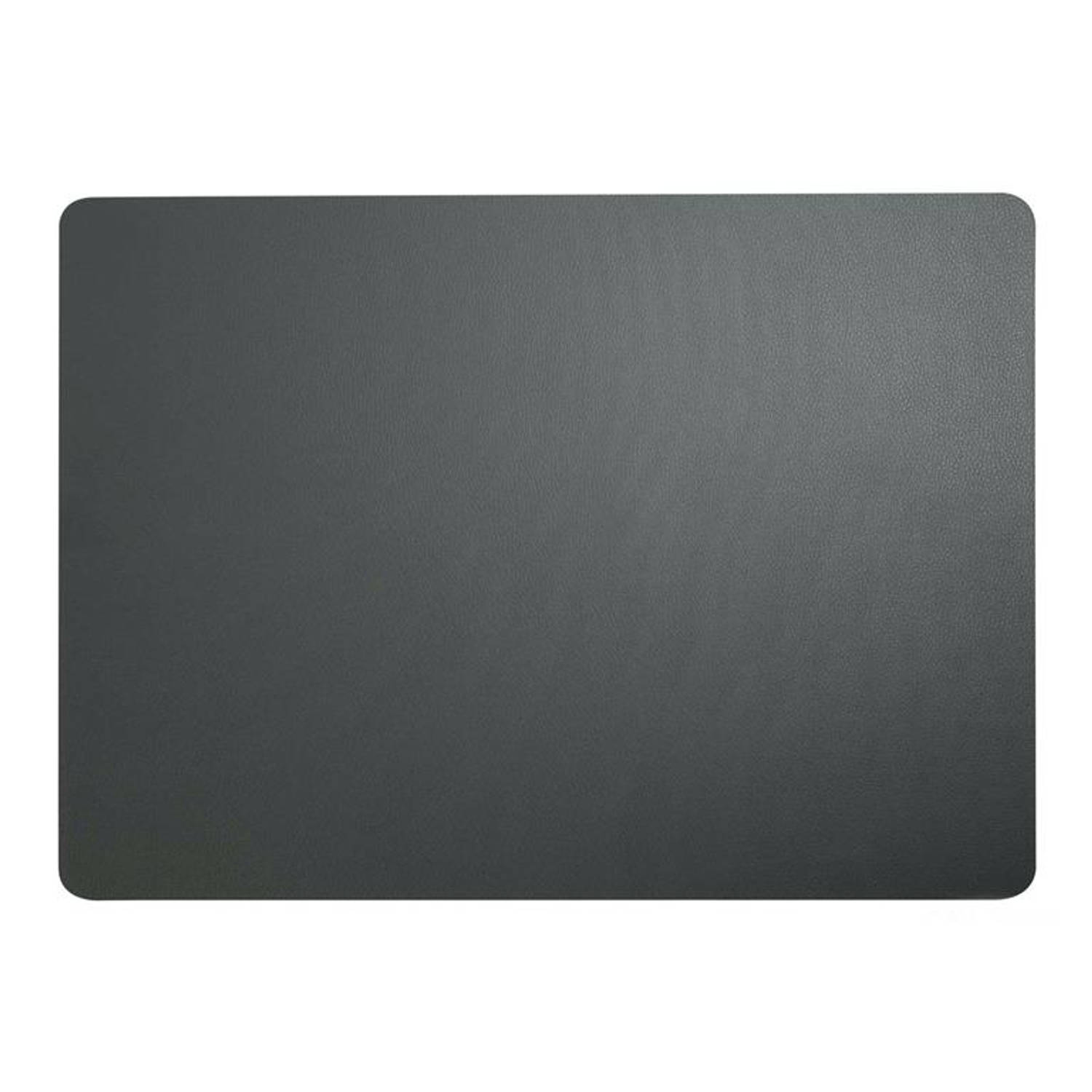 Korting Asa T Table Top Placemat 33x46cm Basalt Leather
