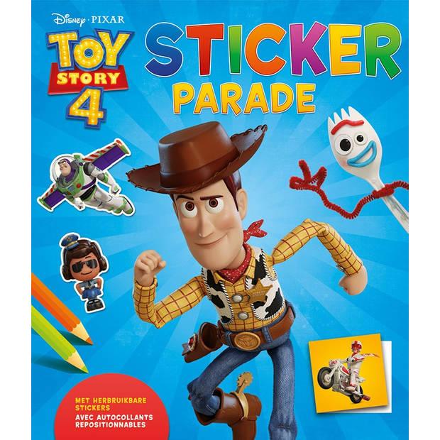 Deltas stickerboek Disney Toy Story 4 - stickerparade