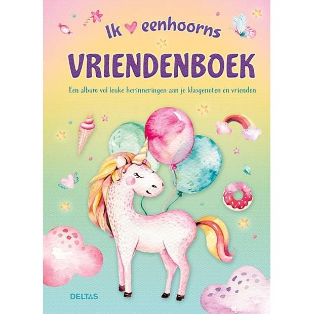Deltas Eenhoorns vriendenboek