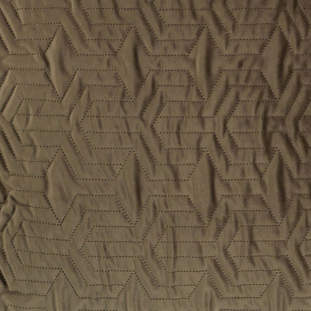 Dutch Decor Sierkussen Joan 45x45 cm olijf