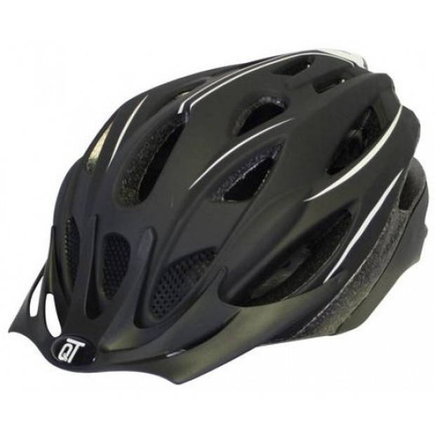 Cycle Tech fietshelm Fuse unisex matzwart/wit