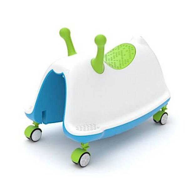 Chillafish loopwagen Trackie Junior Blauw/Groen