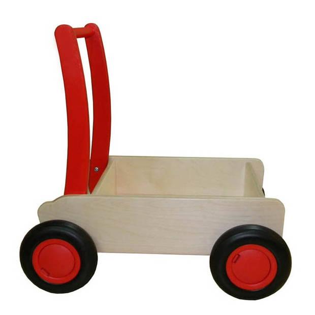 Van Dijk Toys blokkenwagen 55 cm rood