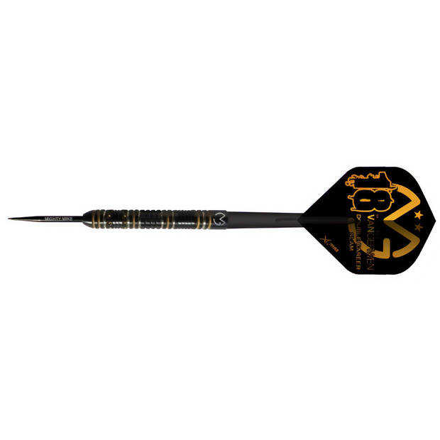 XQ Max Michael van Gerwen Double Career Slam steeltip 90%