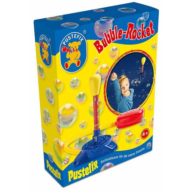 Pustefix bellenblaas: BUBBEL-RAKET met 220ml Pustefix, 4+