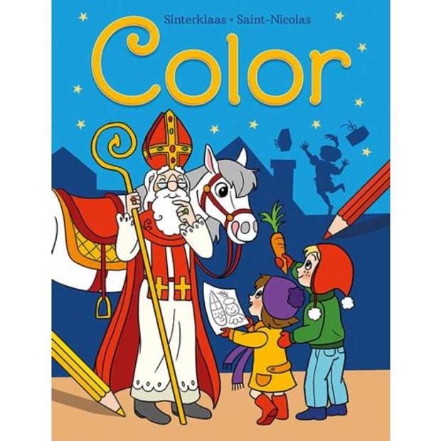 Sinterklaas Color Kleurblok / Saint-Nicolas Color