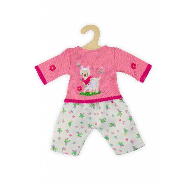 "Heless poppenkleding ""Alpaca Oscar"" 35-45 cm roze"