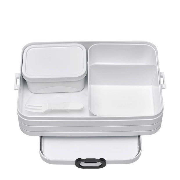 Mepal lunchbox Bento Large 17 x 25,5 x 6,5 cm wit
