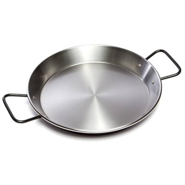 Paella pan, plaatstaal, 30 cm - Garcima