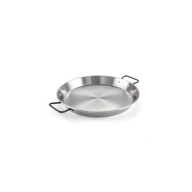 Paella pan, plaatstaal, 42 cm - Garcima