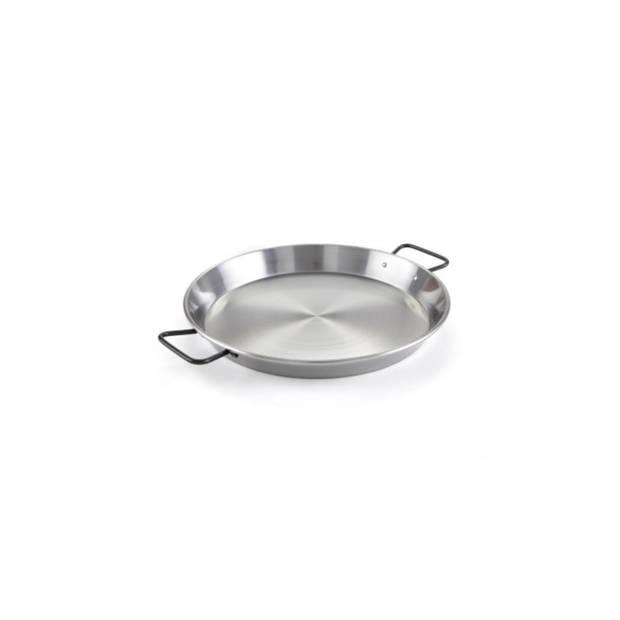 Paella pan, plaatstaal, 38 cm - Garcima