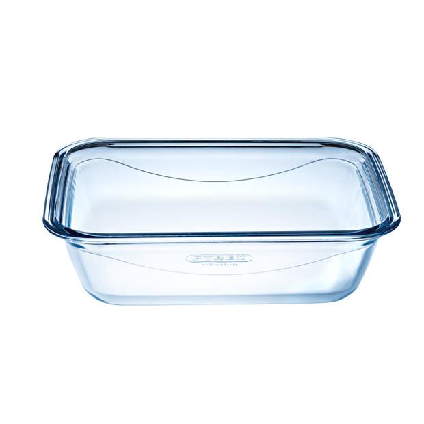 Pyrex Cook & GO ovenschaal - met deksel - 20 x 15 x 5 cm