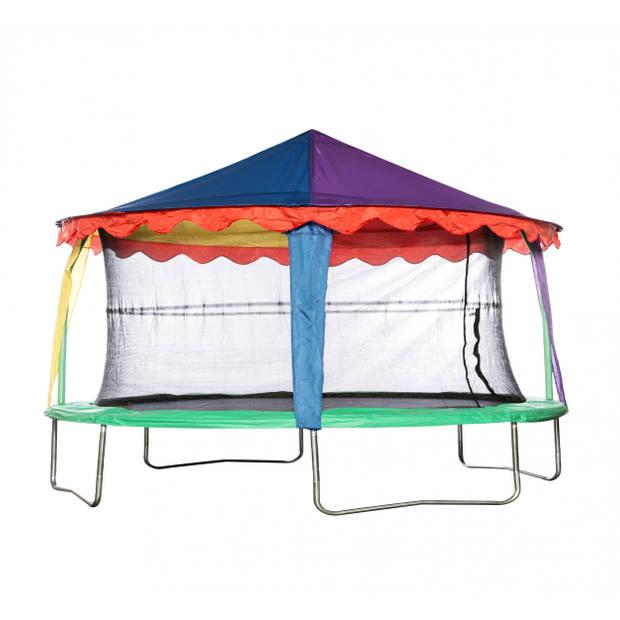 Jumpking trampoline Canopy circustent ovaal 2,13 x 3,05 meter