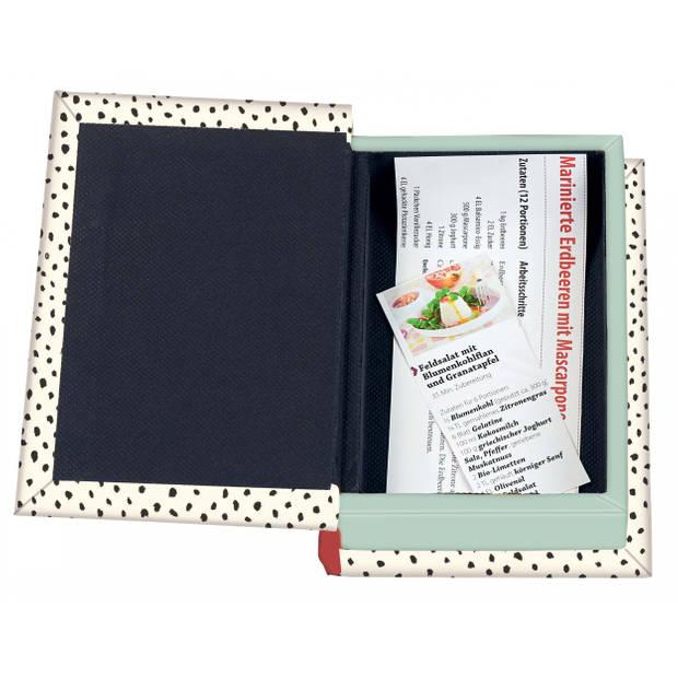 Moses receptenbox voor kookgeheimen 25 x 19,5 cm beige