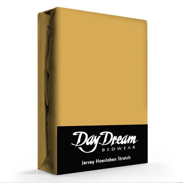 Day Dream Jersey Hoeslaken Chai Tea-180 x 200 cm