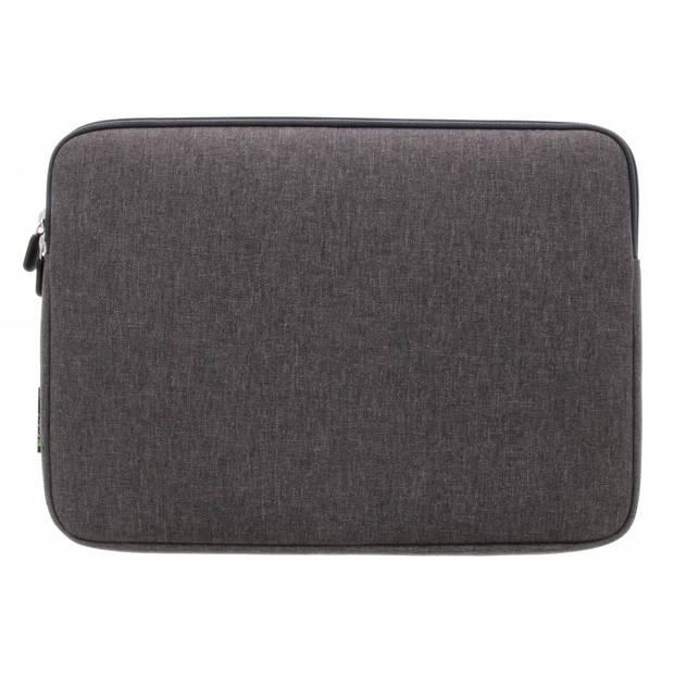 Gecko Covers Grijze Universal Zipper Laptop Sleeve 11-12 inch