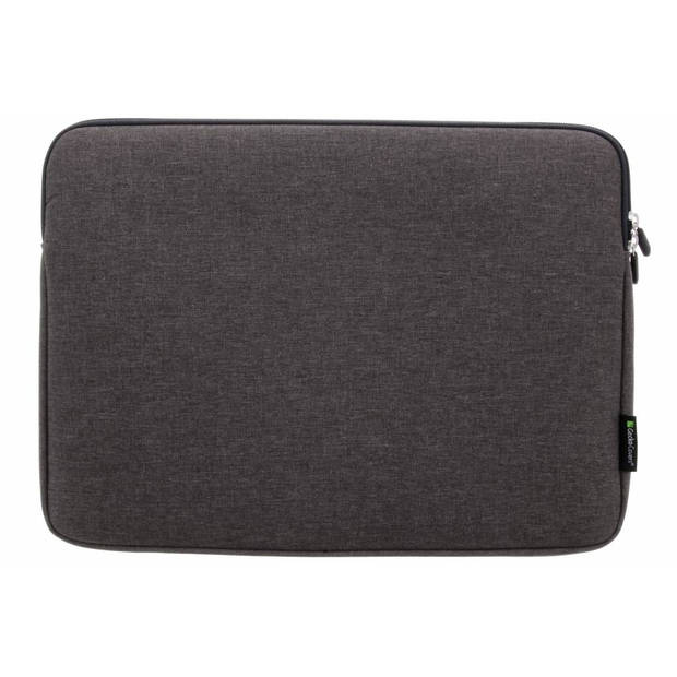 Gecko Covers Grijze Universal Zipper Laptop Sleeve 15-16 inch
