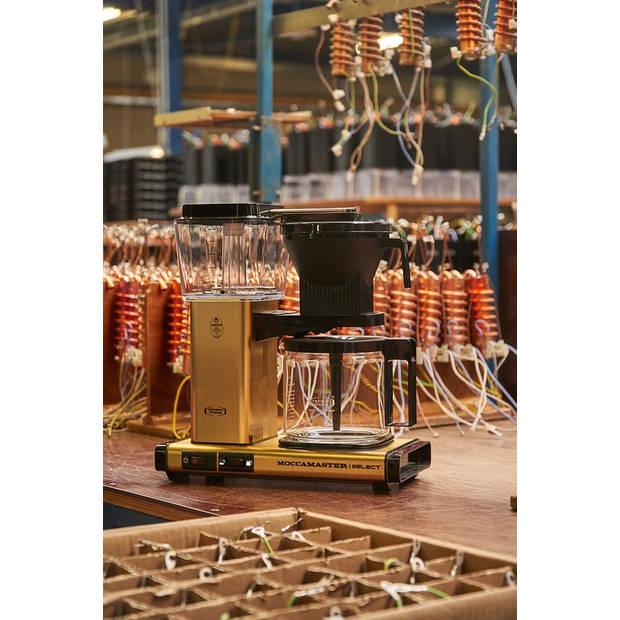 Douwe Egberts Moccamaster filterkoffiezetapparaat - KBG Select - antraciet
