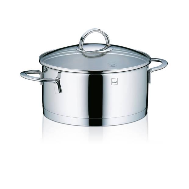 Kookpan laag 20 cm - RVS - Kela Cailin