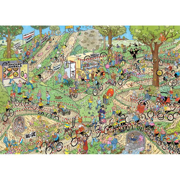 Jan van Haasteren puzzel veldrijden - 1000 stukjes