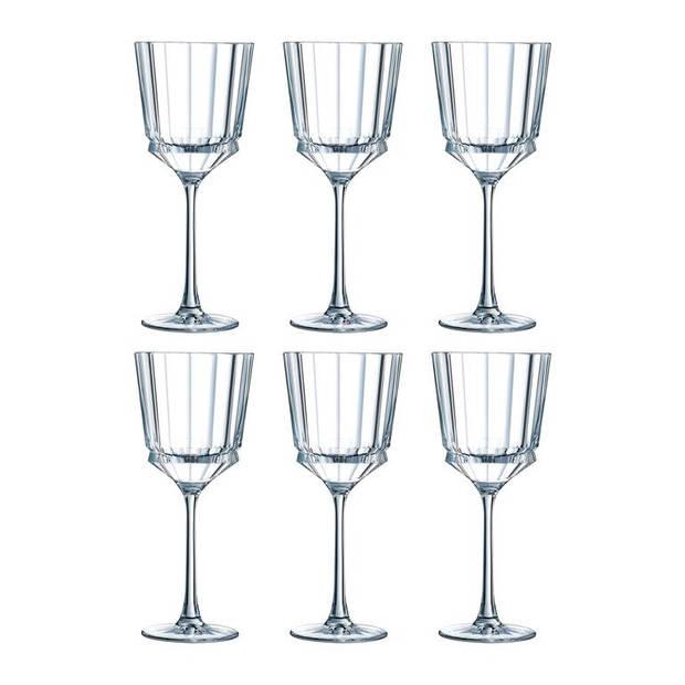 Christal d'Arques - Macassar Wijnglas 25 Cl Set/6