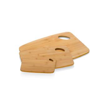 Korting Bamboe Snijplank, Set Van 3 Kela Katana