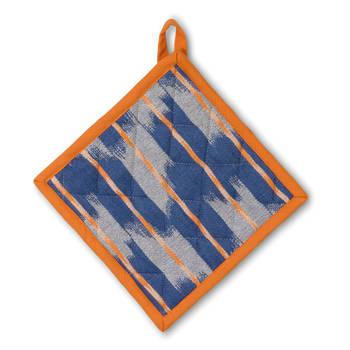 Korting Pannenlap, Oranje Blauw Kela Ethno