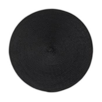 Korting Placemat, Zwart Kela Kimya