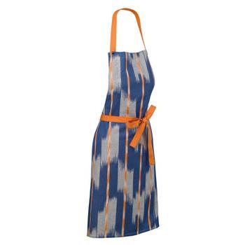 Korting Keukenschort, Oranje Blauw Kela Ethno