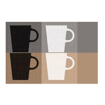 Korting Placemat, Koffiekopjes Kela Picture