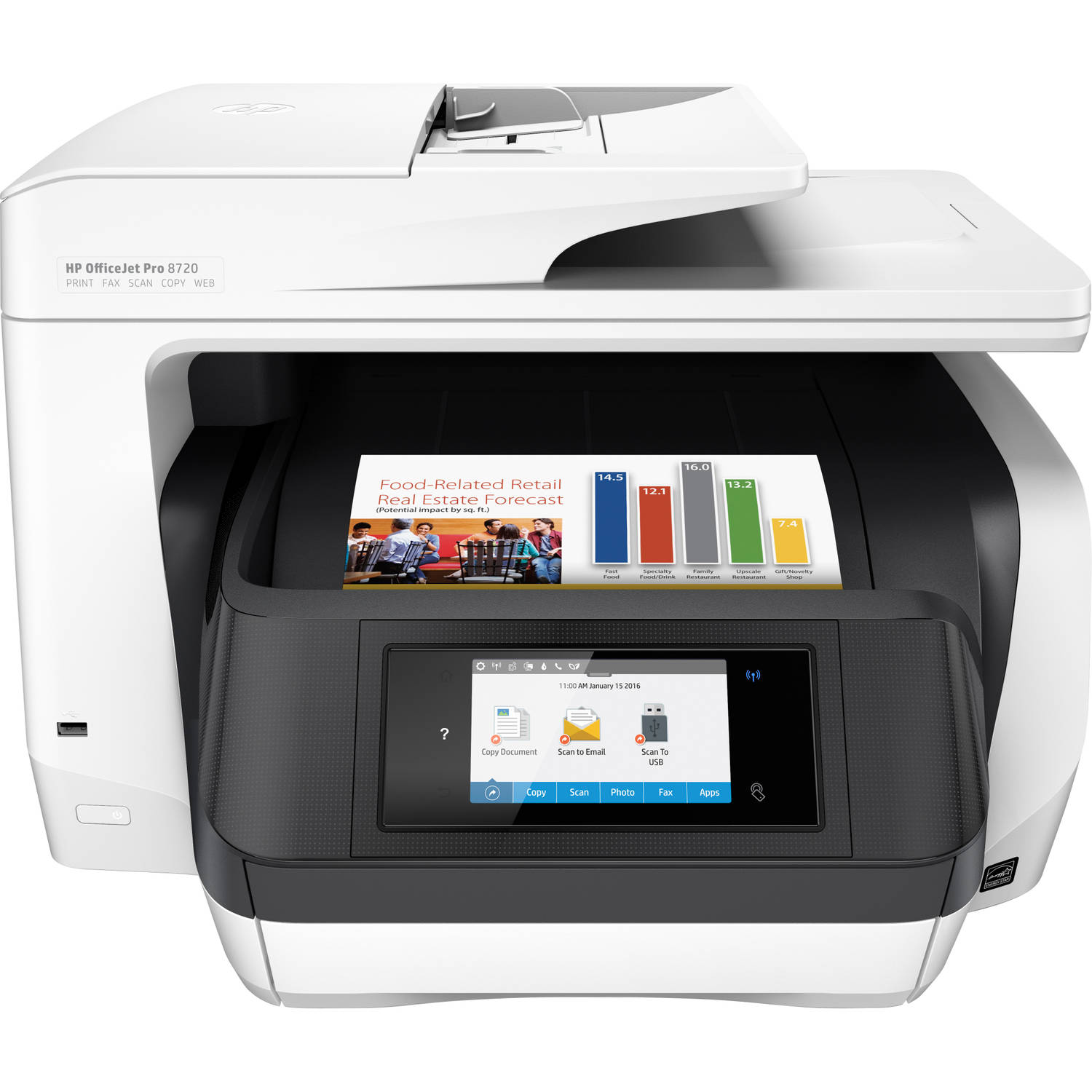 OfficeJet Pro 8720 All-in-one (D9L19A)