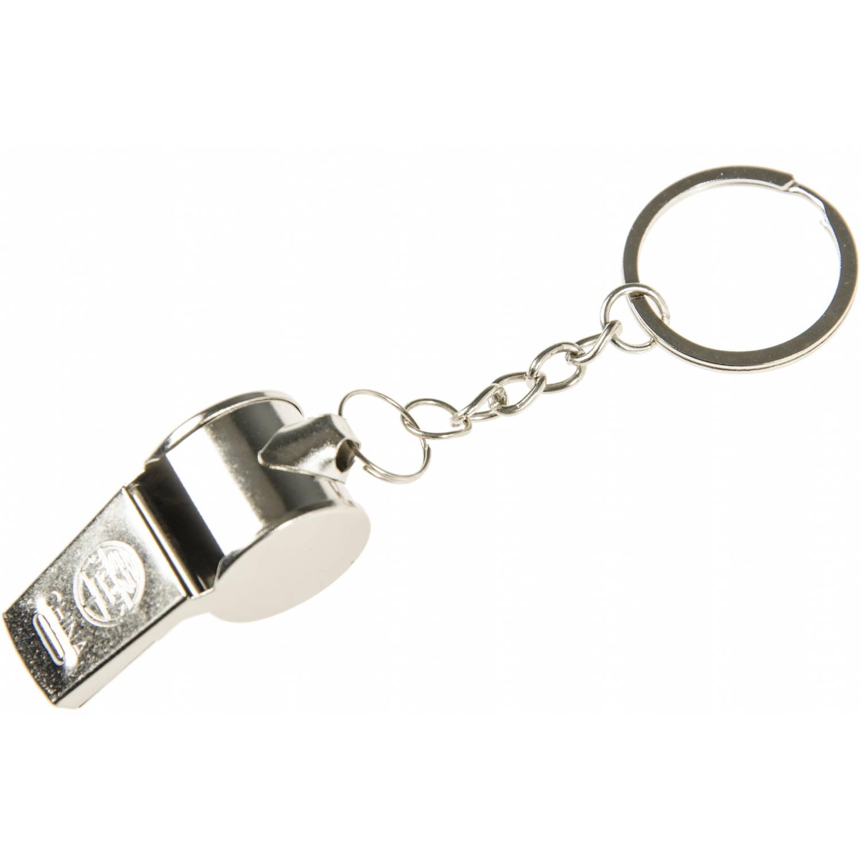 Korting Lg imports Sleutelhanger Met Fluitje Aluminium 6 Cm