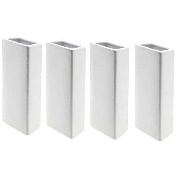 4x Radiator luchtbevochtiger wit 31 cm - verdamper