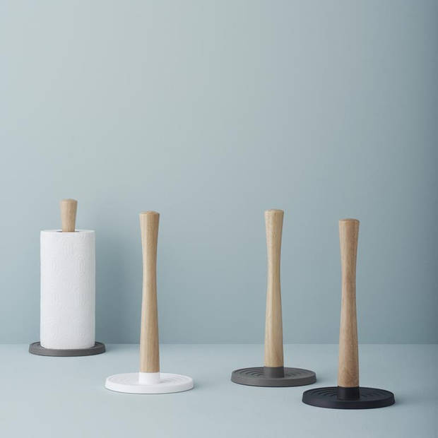 RIG-TIG - ROLL-IT kitchen roll holder - black