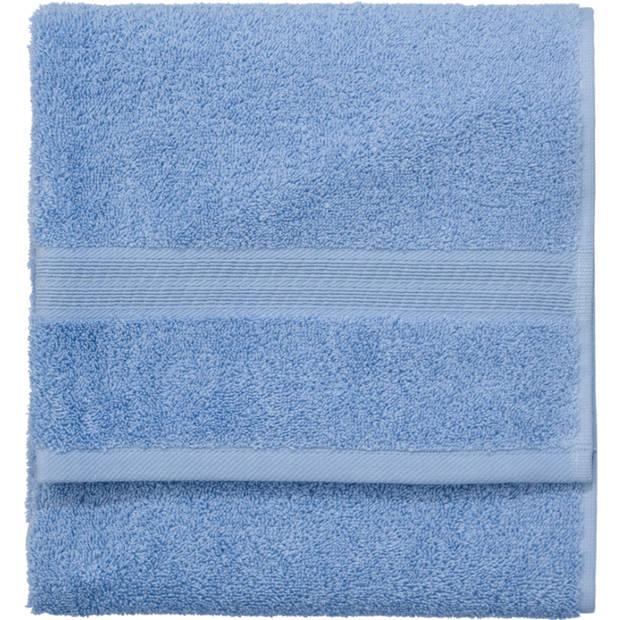 Blokker handdoek 500g - blauw - 50x100 cm